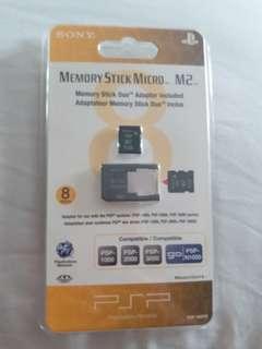 Psp memory stick micro M2