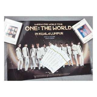 WANNA ONE POSTER