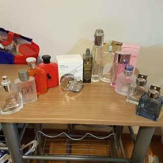 Assorted Authentic perfume bottles men/women (ALL)