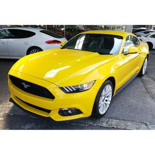 FORD MUSTANG 2.3 ECOBOOST PROSHAKER AUDIO YELLOW (A) OFFER UNREG 2017
