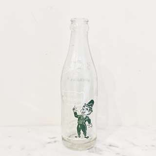 Vintage Tom Moore Leprechaun Soda Bottle (Coca-Cola)