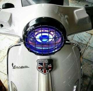 Vespa grill lamp cover