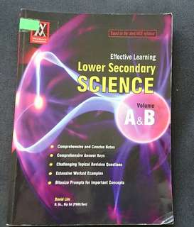 Science lower secondary book