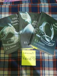 FIFTY SHADES OF GREY TRIOLOGY