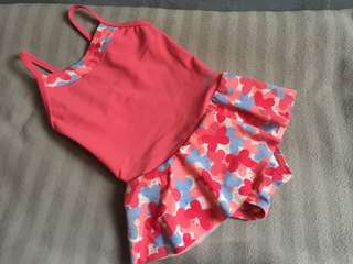 Swimming Suit swim suit for baby girl pink color