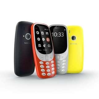 Nokia 2017版 3310 - 全新 有盒 有火牛 - NEW  Dual Sim