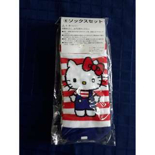 Hello Kitty lucky draw ankle socks