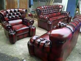 Sofa mewah merah maroon bisa kredit