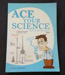 Science secondary 1 and 2 revision book