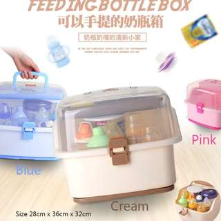 Portable Feeding Bottle Box - BPA FREE