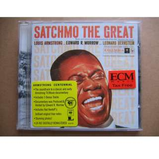 Louis Armstrong - Satchmo The Great CD (美版) (24Bit Digitally Remastered)