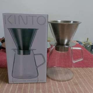 KINTO  Carat 咖啡沖泡壺組