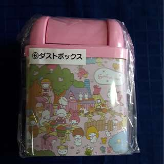 Sanrio lucky draw small dustbin