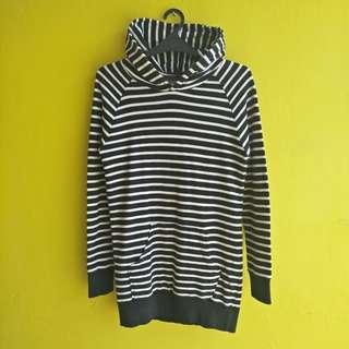 Stripe Long Hoodie
