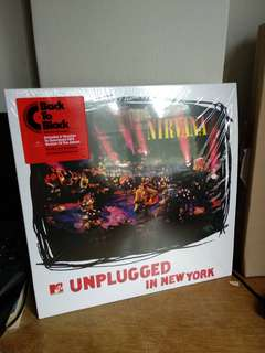 *NEW* NIRVANA MTV UNPLUGGED IN NEW YORK vinyl lp