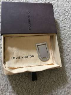 Authentic Louis Vuitton Money Clip PRICE is FIRM