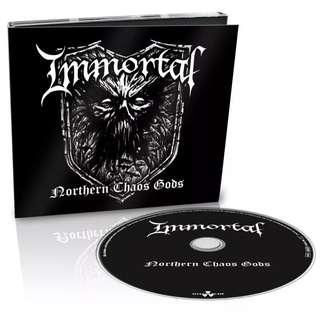 Immortal – Northern Chaos Gods CD Limited Edition Digipak