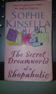 Preloved book The Secret Dreamworld of a Shopaholic