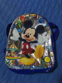 Superman and Mickey Mouse bags