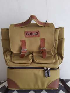 gabag backpack series lemon cooler bag
