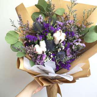 Dried Flower Rustic Bouquet