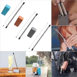 HKA0299 - New Reusable Portable Stainless Final Drinking Straw
