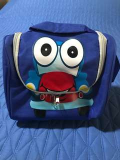 Insulated Lunch Bag with Cartoon Car Charater