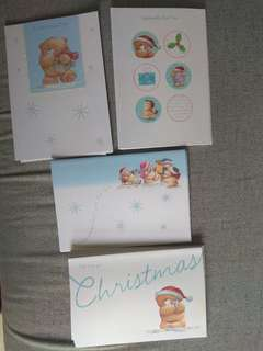 Forever Friends Christmas Greetings Cards