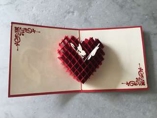 [POP UP] Valentine's Day Card - Heart