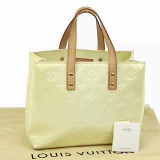 Authentic LOUIS VUITTON Vernis Reade PM handbag