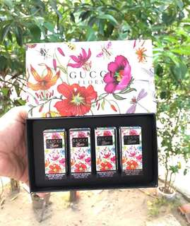 Gucci Floral Parfume Set 4in1