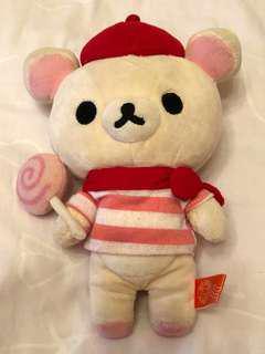 Rilakuma Soft Toy 可愛白鬆弛熊公仔 * 8吋高