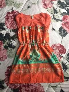 #maudecay Preloved Forever 21 Etnic Dress