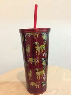 Starbucks Tumbler Dog year from Taiwan