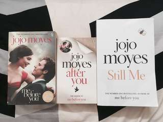 ME BEFORE YOU SERIES BY JOJO MOYES