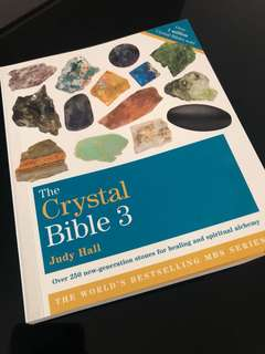 🚚 The Crystal Bible 3 by Judy Hall