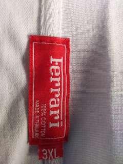 Ferrari White Polo Shirt