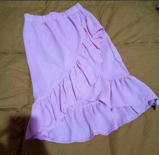 ✅SALE!✅ Pink Ruffle Skirt