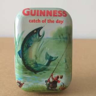 Guinness Mini Fish Tin.