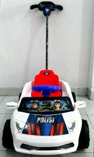 Mainan Tolo Car/ Mobil Dorong Sedan Polisi / GGC 629