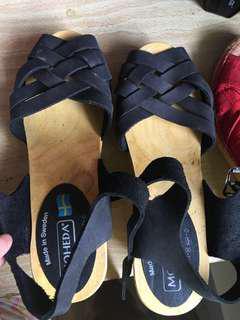 Maheda sandals(made in Sweden ) slightly used