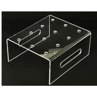 Dessert Table Props Rental_Transparent Push Tube / Cake Stand