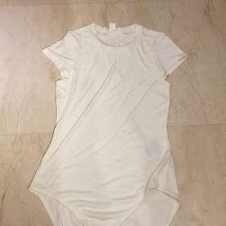 H&M original white bodysuit
