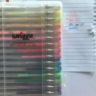 smiggle scented gel ink pens