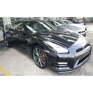 NISSAN GTR 3.8 V6 BLACK EDITION FACELIFT (A) OFFER UNREG 2014