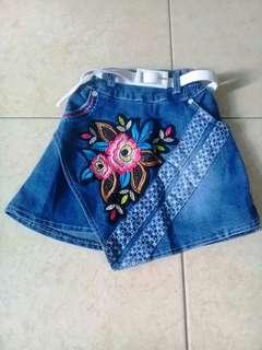 Rok mini jeans #maudecay