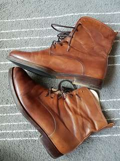 Genuine Ankle Leather Boots