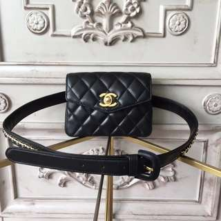 Chanel belt fanny pack bag