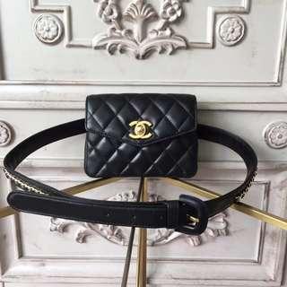 Chanel belt fanny pack bag