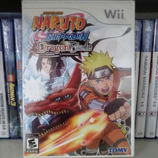 Wii - Naruto Shippuden: Dragon Blade Chronicles